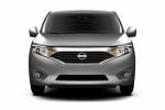 2015 Nissan Quest in Brilliant Silver - Static Frontal View