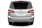 2016 Nissan Quest in Brilliant Silver - Static Rear View
