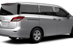 2016 Nissan Quest in Brilliant Silver - Static Rear Right Three-quarter View