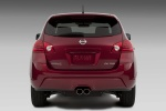 2010 Nissan Rogue Krom in Venom Red Pearl - Static Rear View
