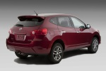 2010 Nissan Rogue Krom in Venom Red Pearl - Static Rear Right Three-quarter View