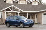 2010 Nissan Rogue 360 in Indigo Blue Metallic - Static Front Right Three-quarter View