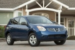 2010 Nissan Rogue 360 in Indigo Blue Metallic - Static Front Right View