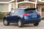 2010 Nissan Rogue 360 in Indigo Blue Metallic - Static Rear Left View