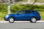 2010 Nissan Rogue 360 in Indigo Blue Metallic - Driving Side View