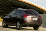 2010 Nissan Rogue in Iridium Graphite Metallic - Static Rear Left Three-quarter View