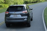2014 Nissan Rogue SL AWD in Graphite Blue - Driving Rear Right View