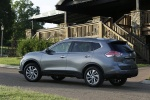 2016 Nissan Rogue SL AWD in Arctic Blue Metallic - Static Rear Left Three-quarter View