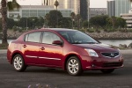 2010 Nissan Sentra SL Sedan in Red Brick Pearl - Static Front Right Three-quarter View