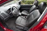 2010 Nissan Sentra SL Sedan Front Seats in Charcoal