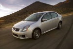 2010 Nissan Sentra SE-R in Brilliant Silver Metallic - Driving Front Left Three-quarter View