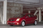 2010 Nissan Sentra SL Sedan in Red Brick Pearl - Static Front Left Three-quarter View