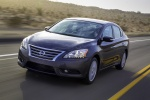2013 Nissan Sentra SL in Amethyst Gray - Driving Front Left Three-quarter View