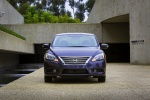 2014 Nissan Sentra SL in Amethyst Gray - Static Frontal View