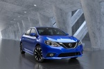 2018 Nissan Sentra SR in Deep Blue Pearl - Static Front Right View