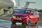 2018 Nissan Sentra SR in Red Alert - Static Front Left View