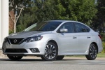 2018 Nissan Sentra SR Turbo in Brilliant Silver - Static Front Left Three-quarter View