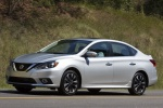 2018 Nissan Sentra SR Turbo in Brilliant Silver - Driving Left Side View
