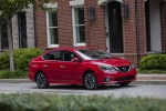 2018 Nissan Sentra SR Turbo in Red Alert - Static Front Right Three-quarter View