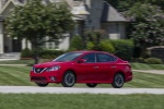2018 Nissan Sentra SR Turbo in Red Alert - Driving Front Left Three-quarter View