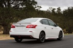 2018 Nissan Sentra NISMO in Aspen White - Static Rear Right Three-quarter View