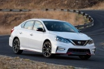 2018 Nissan Sentra NISMO in Aspen White - Static Front Right Three-quarter View