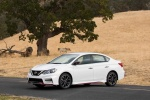2018 Nissan Sentra NISMO in Aspen White - Static Front Left Three-quarter View