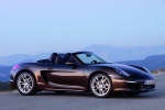 2013 Porsche Boxster in Anthracite Brown Metallic - Static Side View