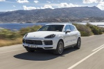 2019 Porsche Cayenne AWD in White - Driving Front Left View