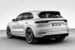 2019 Porsche Cayenne Turbo AWD in White - Static Rear Left Three-quarter View