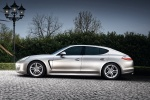 2012 Porsche Panamera in GT Silver Metallic - Driving Side View