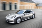 2013 Porsche Panamera in GT Silver Metallic - Static Front Left Three-quarter View