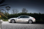 2013 Porsche Panamera in GT Silver Metallic - Driving Side View