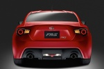 2013 Scion FR-S Coupe in Firestorm - Static Rear View