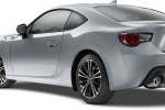2015 Scion FR-S Coupe in Halo - Static Rear Left Three-quarter View