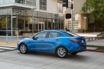 2016 Scion iA Sedan in Sapphire - Static Rear Left Three-quarter View
