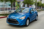 2016 Scion iA Sedan in Sapphire - Driving Front Left View