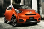 2014 Scion iQ in Hot Lava - Static Front Right Three-quarter View