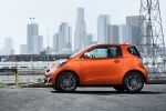 2014 Scion iQ in Hot Lava - Static Left Side View