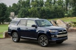 2017 Toyota 4Runner Limited in Nautical Blue Pearl - Static Front Right Three-quarter View