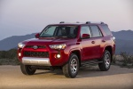 2019 Toyota 4Runner TRD Off Road in Barcelona Red Metallic - Static Front Left Three-quarter View