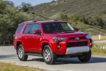 2019 Toyota 4Runner TRD Off Road in Barcelona Red Metallic - Driving Front Right View