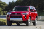 2019 Toyota 4Runner TRD Off Road in Barcelona Red Metallic - Driving Front Left View