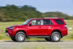 2019 Toyota 4Runner TRD Off Road in Barcelona Red Metallic - Driving Side View