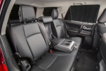 2019 Toyota 4Runner TRD Off Road Rear Seats in Black