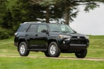 2019 Toyota 4Runner SR5 in Midnight Black Metallic - Driving Front Right Three-quarter View