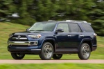 2019 Toyota 4Runner Limited in Nautical Blue Pearl - Driving Front Left Three-quarter View