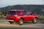 2019 Toyota 4Runner TRD Off Road in Barcelona Red Metallic - Static Rear Right Three-quarter View