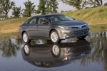 2014 Toyota Avalon Hybrid in Magnetic Gray Metallic - Static Front Right Three-quarter View
