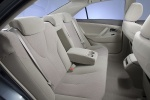 2010 Toyota Camry LE Rear Seats in Bisque
